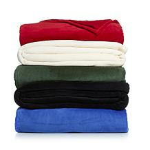Soft and Cozy  Plush Solid Color Blanket
