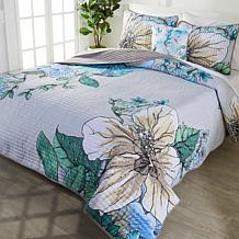 South Street Loft Botanical Garden 4-piece Quilt Set