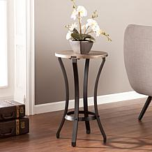 Southern Enterprises Carthage Round Accent Table
