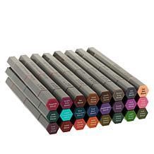 Spectrum Noir 3-in-1 Tri-Blend Brush Nib Markers 24-pack