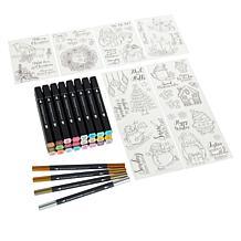 Spectrum Noir Holiday Markers and Stamps Mega Bundle