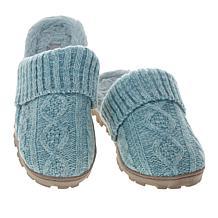 Sporto® Sally2 Knit Slipper with Faux Fur Trim