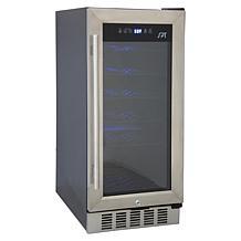SPT 32-Bottle Under-Counter Wine Cooler