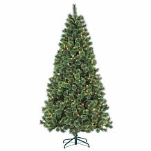 Sterling 7' Hard Needle Deluxe Cashmere Christmas Tree