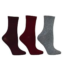 Steven by Steve Madden Super Soft Crew Sock 3-pack