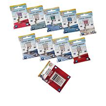 Sulky 50-piece Set of Assorted Organ Universal Sewing Machine Needles