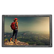 """SuperSonic 12"""" Portable LED TV with Antenna and Earbuds"""