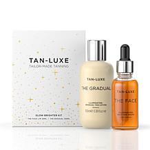 Tan Luxe Glow Brighter The Face Medium/Dark & The Gradual 2-piece Set
