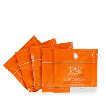 TanTowel® Total Body Dark Self Tan Towelette 5-pack