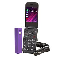 TCL Alcatel My Flip 2 A406DL Tracfone with 1200 Min/Text/Data