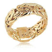 Technibond® Byzantine-Style Band Ring