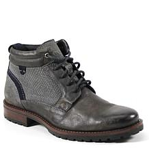 Testosterone Shoes Flip Under Men's Lace-Up Leather Boot