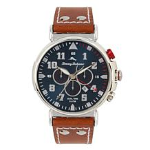 Tommy Bahama Men's Bay View Dual Time Chronograph Watch - Brown