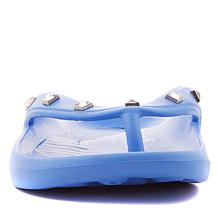 ff6f38909 ... Tony Little Cheeks® Jeweled Health Sandal with Gel Footbed ...