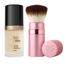 Too Faced Born This Way Foundation & Brush - Pearl