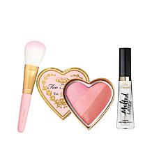 Too Faced Sweet Cheeks & Luscious Lips 3-piece Set