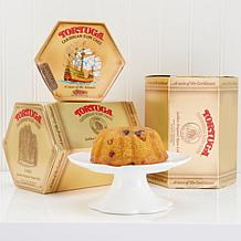 Tortuga 3-pack Golden Rum Cakes - Set of 2