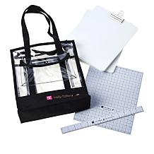 Totally-Tiffany Rotating Design Board and Magnetic Tool with Case