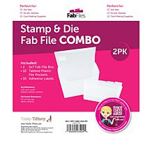 Totally Tiffany Stamp & Die Fab File Combo 2-pack