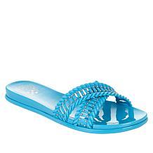 Vince Camuto Erindra X-Band Jelly Slide Sandal
