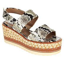 Vince Camuto Marsa Leather Espadrille Platform Sandal