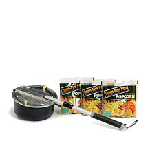 Whirley Pop 3-pack Open-Fire Popcorn and Outdoor Popper