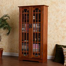 Windowpane Media Cabinet - Oak