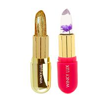 Winky Lux Flower Balm & Glimmer Balm Duo - Purple