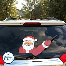 WiperTags Animated Rear Wiper – Waving Santa