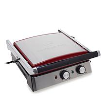 Wolfgang Puck 6-in-1 Reversible Contact Grill and Griddle with Recipes