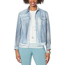 WynneLayers Chiffon Jacket