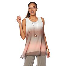 WynneLayers Ombre Top Tier Tunic
