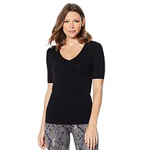 Yummie V-Neck Shaping Cooling Tee