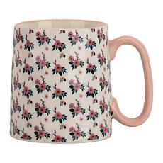10 Strawberry Street Bella Hannah Pink Floral Mug 4-Pack