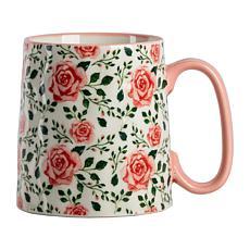 10 Strawberry Street Bella Laguna Rose Mug 4-Pack