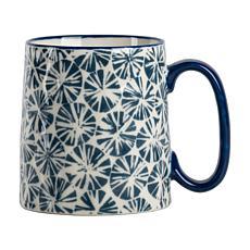 10 Strawberry Street Bella Radial Blue Mug 4-Pack