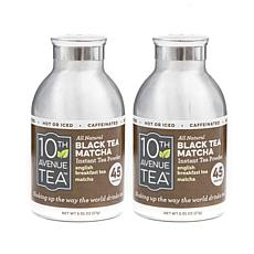 10th Avenue Tea Instant Black Tea Matcha - 2-pack