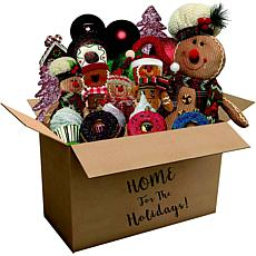 152-Pc Home for the Holidays Gingerbread Christmas Ornament/Décor Set