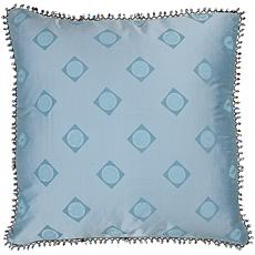 "18"" x 18"" Beaded Edge Pillow - Blue"