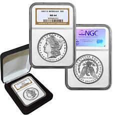 1885 MS64 NGC O-Mint Morgan Silver Dollar