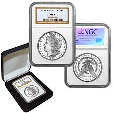 1886 MS64 NGC P-Mint Morgan Silver Dollar
