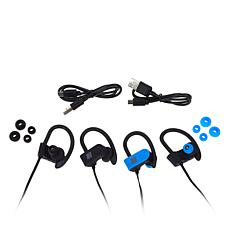 2-pack Rhythm Wireless Sweat-Resistant Earbuds