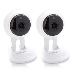 2-pack Samsung 1080P Full HD Smart Security Cameras