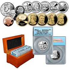 2011 PR70 ANACS FDOI LE 297 Proof Set