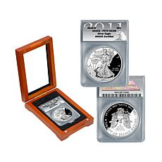 2011-W PR70 Proof DCAM ANACS Silver Eagle Dollar Coin