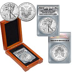 2013 SP70 ANACS FDOI LE 1499 Silver Eagle Dollar Coin
