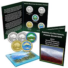 2013 White Mountain National Park 5-piece Quarter Set