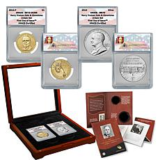 2015 ANACS 70 FDOI Harry S. Truman Coin & Chronicles