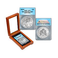 2015 SP70 ANACS Satin-Finish Silver Eagle Dollar Coin
