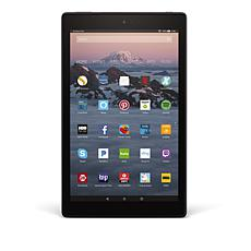 "2017 Fire HD IPS 10"" 32GB Alexa-Enabled Tablet w/Curious.com & Pandora"
